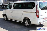 Боковые пороги для Ford Transit(Custom) 2012+ Short ST Line