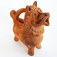 Огнегривый Лев. Скульптура из глины