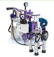 Доильный аппарат УИД-10 с двумя ведрами (для дойки двух коров)