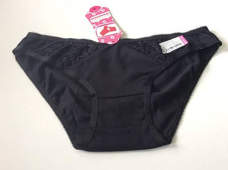 Женские черные трусики , фото 2