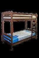 Двухьярусная кровать из дерева