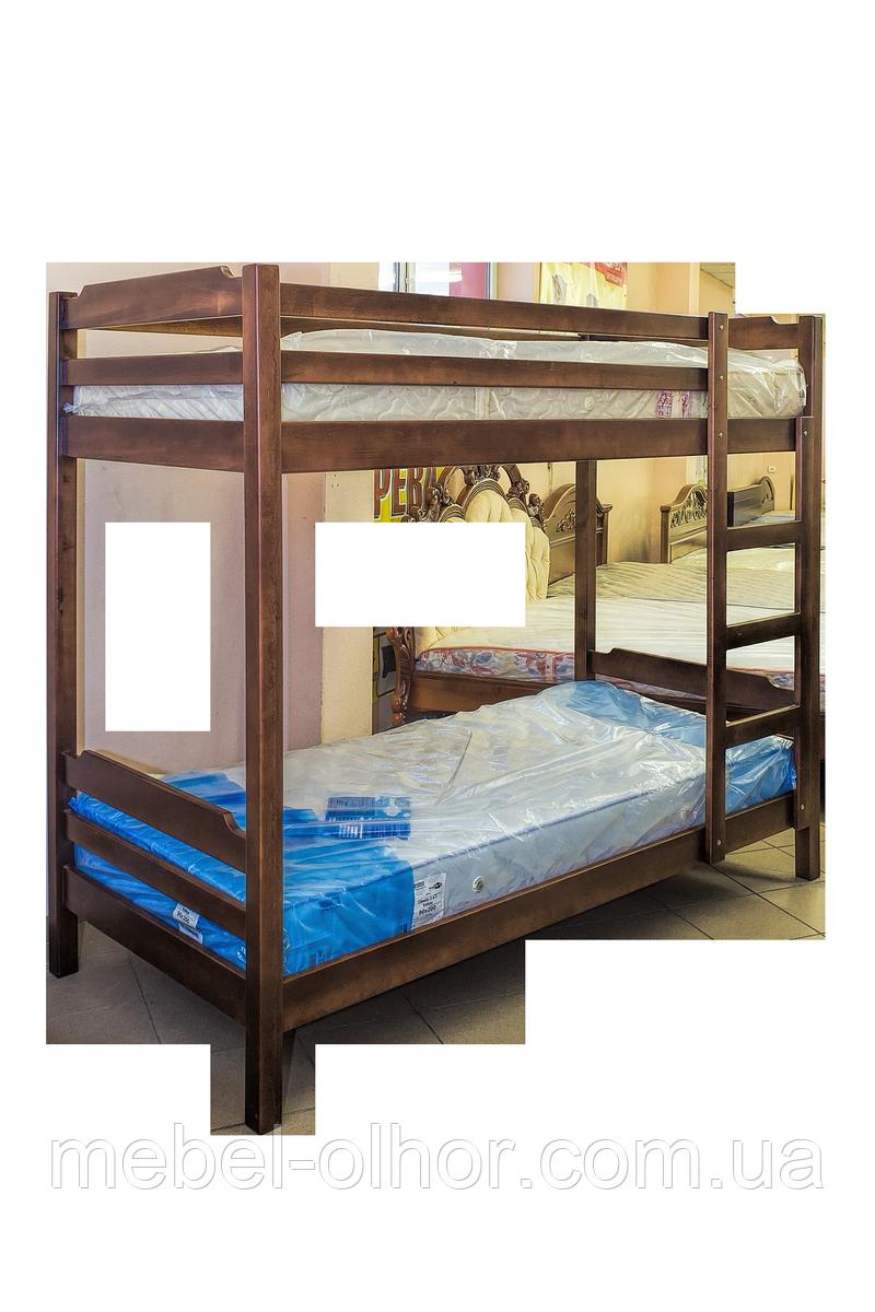 """Двухьярусная кровать из дерева - Мебель из дерева """"Ольхор"""" в Кировоградской области"""