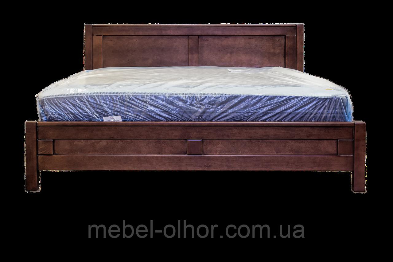 Деревянная кровать Глория (160*200) (орех)