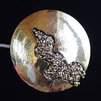 Декоративный магнит подхват для штор и тюлей 79-105