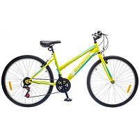"Велосипед 26"" Discovery PASSION 14G Vbr St зелено-бело-голубой 2016"