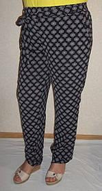 Летние  штаны баталы р .50-56