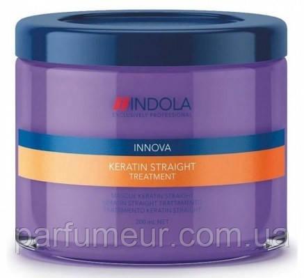 Indola Keratin Straight Treatment Маска для выравнивания 200 мл