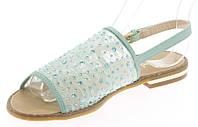 Модные женские сандали голубого цвета Paige Blue