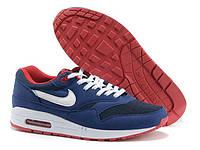 Мужские кроссовки Nike Air Max 87 blue white, фото 1
