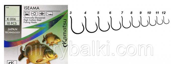 Крючки Kamatsu ISEAMA 8