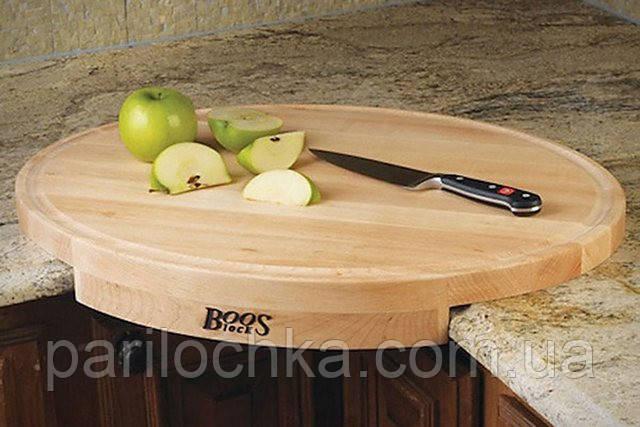 Кухонная доска из клена, для углового крепления к столу.