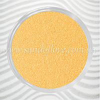 Золотий (кремово-бежевий) кольоровий пісок для пісочної церемонії, фото 1