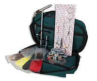 Набор инструментов Lineaeffe для вязания мушек 12 наимен в сумке