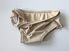 Трусики женские шортиками беживые, фото 3