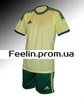 Футбольная форма игровая Adidas (Адидаc лайм\зеленая)