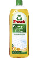 Фрош - натуральное очищающее средство для всех видов поверхностей  Frosch Universal Reiniger Orange 750 мл
