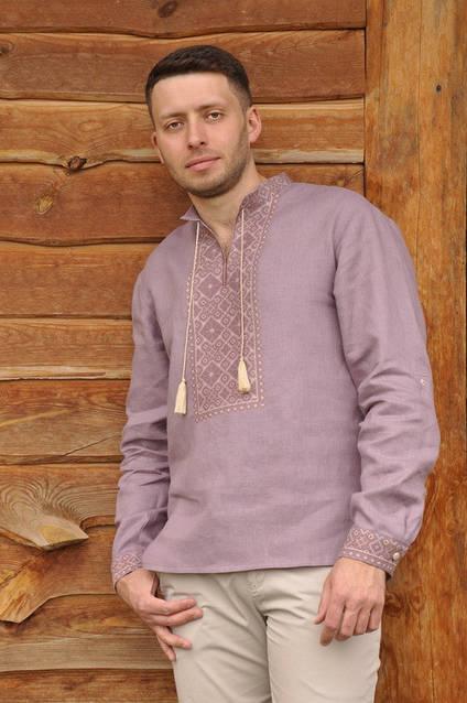 Мужская вышитая рубашка М07/1-286, фото 1