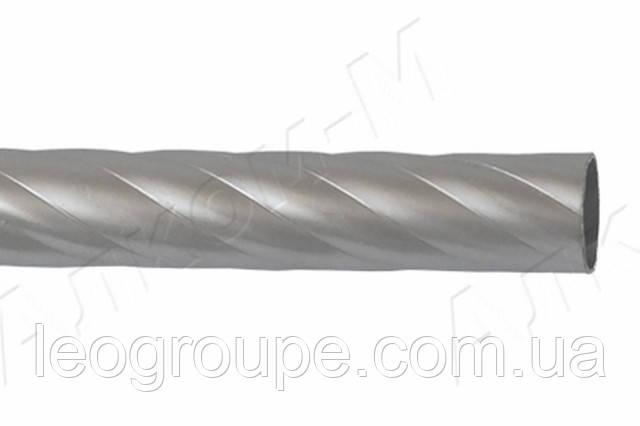 Труба крученая 25мм сатин-3м