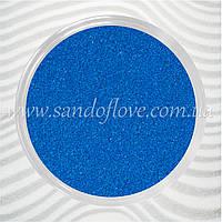 Синій кольоровий пісок для весільної церемонії пісочної, фото 1