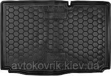 Полиуретановый коврик в багажник Ford B-Max 2013- нижняя полка (AVTO-GUMM)