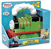 Fisher Price Томас и его друзья Паровозик Перси со светом и звуком