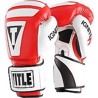 Боксерские перчатки TITLE Infused Foam Ignite I-Tech Training Gloves