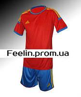 Футбольная форма игровая Adidas (Адидаc красная\синяя)