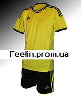 Футбольная форма игровая Adidas (Адидаc Желтая\черная)
