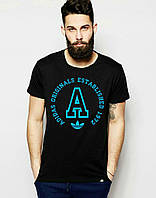 Стильная футболка с принтом адидас,Adidas