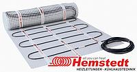 Нагревательный мат (кабель с сеткой) Hemstedt DH 5м² 750W