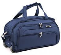 Дорожня сумка на колесах MERCURY 41100 синя 53х29х29см