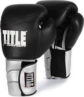 Тренировочные перчатки на липучке TITLE Platinum Paramount Elastic PPTGE