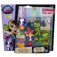 Игровой набор Littlest Pet Shop Модные зверюшки на шоу. Оригинал Hasbro