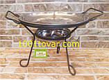 Кованная подставка Садж для шашлыка или таганок, 28х15,5 см., фото 2