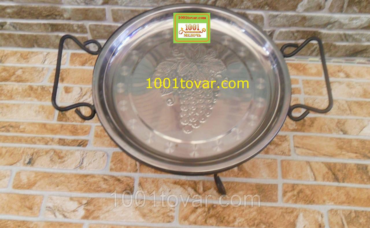Кованная подставка Садж для шашлыка или таганок, 33х20 см.