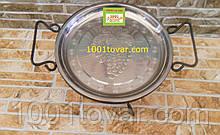 Кованная подставка Садж для шашлыка или таганок, 28х15,5 см.