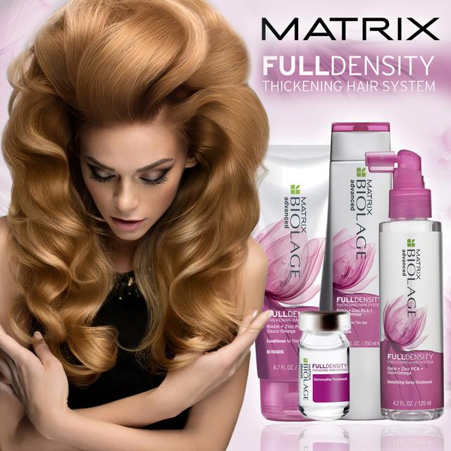 Линия Biolage Full Density – терапия для уплотнения тонких волос