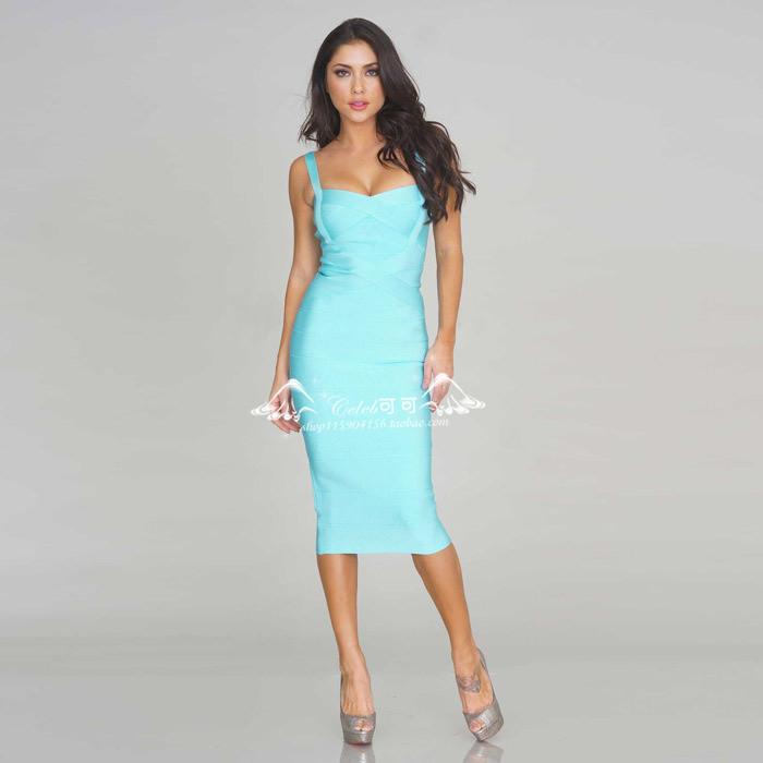 Бандажные платья длинное платье