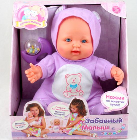Пупс Забавный малыш (Миша) 5234, серия: Дочки-Матери