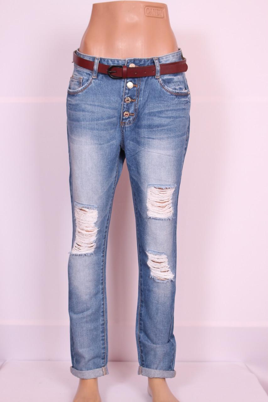 Жіночі джинси турецькі бойфренди великого розміру