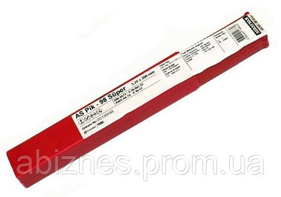 Электроды AS Pik-98 для сварки по чугуну диаметр 2,5 мм