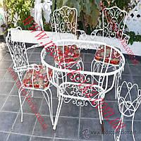 Столы и стулья для сада 4