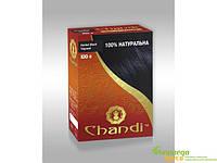 Лечебная аюрведическая краска для волос Chandi. Чёрный. Прекрасна восстанавливает и поддерживает