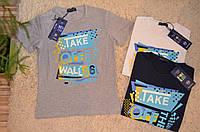 Трикотажная футболка для мальчиков 10-16 лет