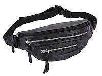 Черная поясная сумка для бега FIDANIJA