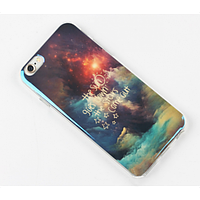 "Cиликоновый чехол для iPhone 6 ""The sun goes down the stars come out"""