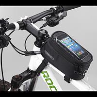 Велосумка ROSWHEEL на раму для смартфона и пр.