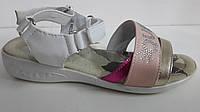 Босоножки  радуга для девочек. ТМ B&G. Размер 31 32