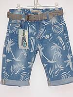Hawaiian summer!Джинсовые бриджи для мальчиков..Размеры 134-164 см.Фирма GRACE.Венгрия