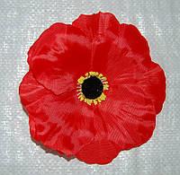 Головка красный мак 14 см, фото 1